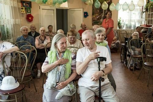 Пансионат для пожилых людей в Пушкине